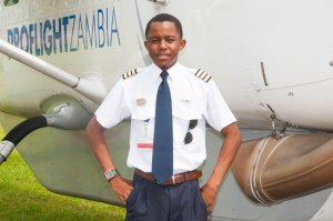 Kalenga draws his inspiration from the colleagues he is working with at Proflight