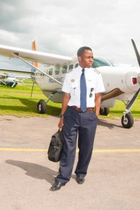 Since joining Proflight, Kalenga has notched-up almost 500 hours of flying time