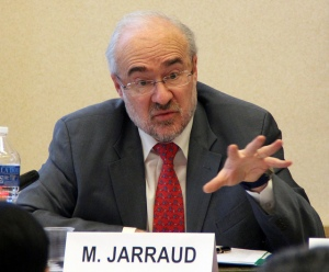 WMO secretary-general Michel Jarraud